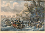 Bonaparte landing on Malta by unknown - print