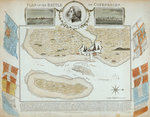 Plan of the Battle of Copenhagen Fine Art Print by Romeyn de Hooghe