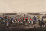 Wellington landing to take command in the Peninsular War by unknown - print