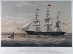 Clipper ship 'James Baines' by Oswald Walter Brierly - print