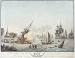 View of Liverpool from the Fort by James Gillray - print