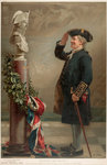 Saluting the Admiral by William Heysham Overend - print