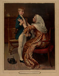 Nelson's first farewell by William Heysham Overend - print