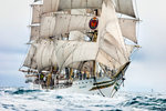 Norwegian full-rigged ship 'Sorlandet', Lerwick to Stavanger Tall Ships Race 2011 by Richard Sibley - print