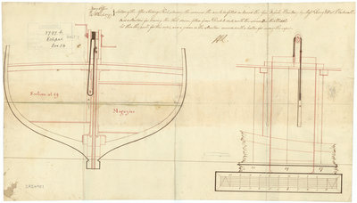 Eclipse (1797); Flamer (1797); Furnace (1797); Furious (1797) by unknown - print