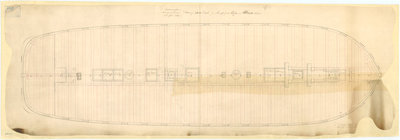 Albion (1842), Aboukir (1848), Exmouth (1854), Algiers (cancelled 1847), Princess Royal (cancelled 1847), Hannibal (cancelled 1847), St. Joan d'Arc (cancelled 1844) by unknown - print