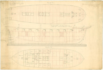 Comet (1828) [later Iomus (1832)], Lightning (1829) [later Larne (1832)] by unknown - print