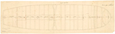 Plan of 'Queenborough' (1748) by unknown - print