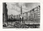'Church of St Catherine, Hamburg', Germany Poster Art Print by Joseph Mallord William Turner