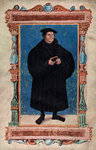 Martin Luther, German theologian and Augustinian monk Fine Art Print by German School