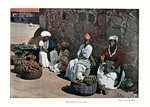 Fruit sellers, Rio de Janeiro, Brazil Wall Art & Canvas Prints by Vicente Alban