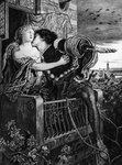 Romeo and Juliet Fine Art Print by French School