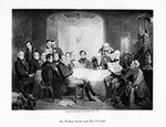 Sir Walter Scott and his friends Wall Art & Canvas Prints by James Edwin McConnell