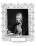 Sir Walter Scott, 1st Baronet, prolific Scottish historical novelist and poet Fine Art Print by James Edwin McConnell