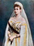 Tsarina Alexandra, Empress consort of Russia Fine Art Print by English Photographer