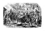 The Stamp Riots of New York Fine Art Print by American School