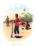 11th Bengal Native Infantry Fine Art Print by English Photographer