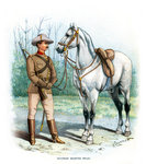 Victorian Mounted Rifles Fine Art Print by English Photographer