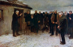 A Highland Funeral Fine Art Print by Sir James Guthrie