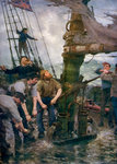 All Hands to the Pumps Fine Art Print by Michele Felice Corne