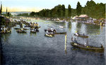 Henley Regatta, Oxfordshire Fine Art Print by English School