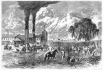 Sugar Plantation, New Orleans Poster Art Print by William Aiken Walker