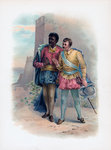 Othello and Iago Fine Art Print by Ludwig Deutsch