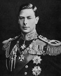 The Duke of York, the future King George VI of the United Kingdom Fine Art Print by French School