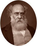 Anthony Trollope, writer Fine Art Print by French School