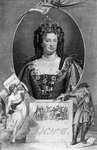 Anne, Queen of Great Britain Fine Art Print by Paul van Somer