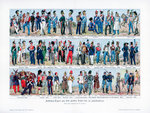 Types of soldiers from the middle of the 19th century Fine Art Print by Charles Thevenin