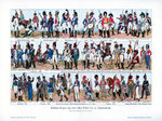 Types of soldiers from the first half of the 19th century Fine Art Print by Nicolas Toussaint Charlet