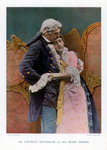 Charles Wyndham and Mary Moore, English actors Wall Art & Canvas Prints by Pahari School