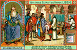 Episodes in the history of Belgium up until the 13th century: Charlemagne Fine Art Print by Philippe de Champaigne