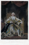 George III, King of Great Britain and Ireland Fine Art Print by Robert Lefevre