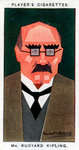 Rudyard Kipling, British writer and poet Fine Art Print by Sir William Rothenstein