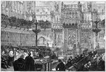 The Bishop of Peterborough addressing the House of Lords Fine Art Print by Thomas Davidson
