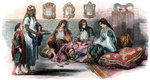 Algerian women Fine Art Print by Pahari School