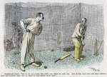 Cricket Fine Art Print by English School
