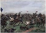 Battle of Agincourt Wall Art & Canvas Prints by German School