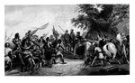 The Battle of Bouvines Fine Art Print by Sir John Gilbert