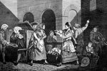The Female Orators Fine Art Print by William Hogarth