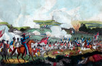 The Battle of Waterloo Fine Art Print by English School
