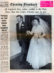 Princess Margaret marries Antony Armstrong-Jones Wall Art & Canvas Prints by George Adamson