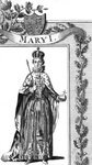 Queen Mary I of England Fine Art Print by Anselmus van Hulle