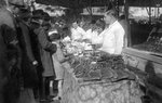 Gingerbread seller, Paris Fine Art Print by Henri Courvoisier-Voisin