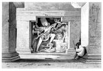 'Dus Awtar, Caves of Ellora', India Fine Art Print by Indian School
