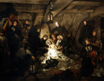 The death of Admiral Lord Nelson Fine Art Print by Anthony Devis