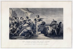 King Alfred Inciting the Anglo-Saxons to Repel the Invasion of the Danes Fine Art Print by C.L. Doughty