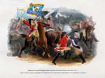 Brigadier-General Cadogan's Horse forcing the French Line Fine Art Print by Sir John Gilbert
